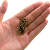 купить кулон в виде скрипичного ключа что можно подарить музыканту