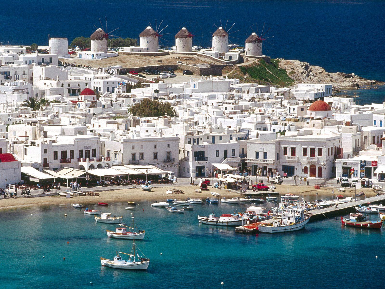 Greece Mykono Greek Islands