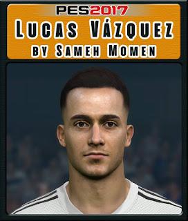 PES 2017 Faces Lucas Vázquez by Sameh Momen