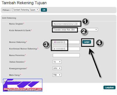 cara transfer online lewat bank BNI internet banking terbaru