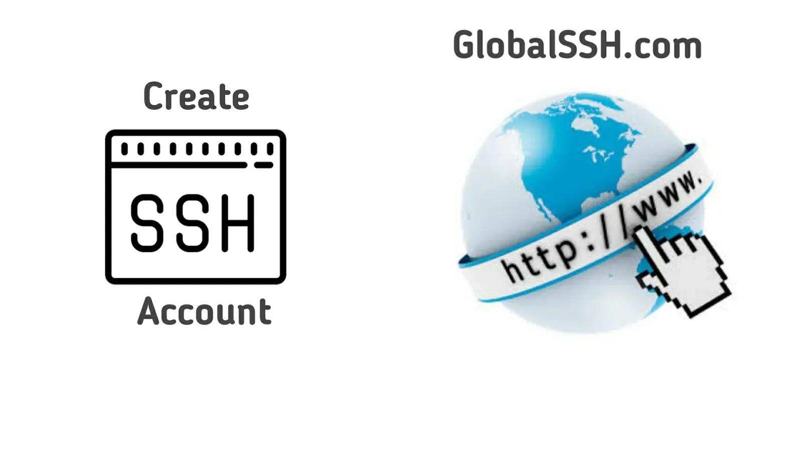 Cara Membuat Akun SSH di Situs GlobalSSH