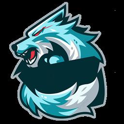 mentahan logo serigala hd