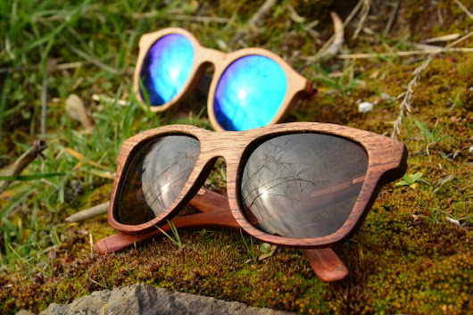 Yesca, wooden sunglasses