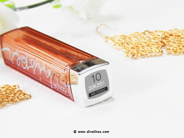 Maybelline Color Whisper Lip Color Bare To Be Bold Shade