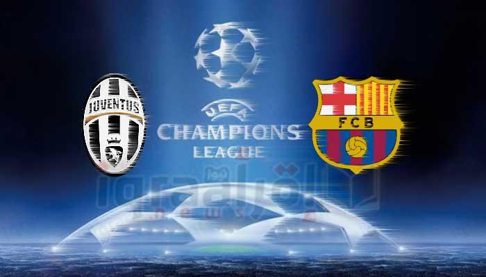 نتيجة أهداف مباراة برشلونة ويوفنتوس أمس 12-9-2017 فوز البرسا بثلاثية فى دوري ابطال اوروبا