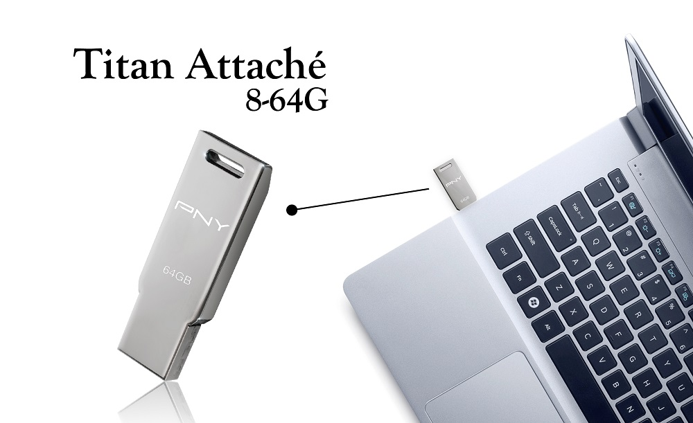 Titan Attaché USB Drive