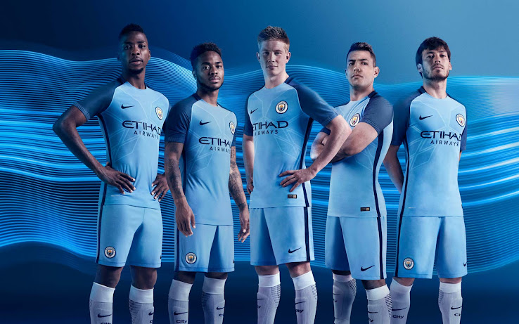 Manchester City thuis tenue 2016/17