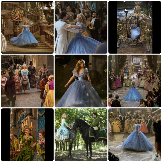 Cinderella Stunning Images + 2 New Trailers