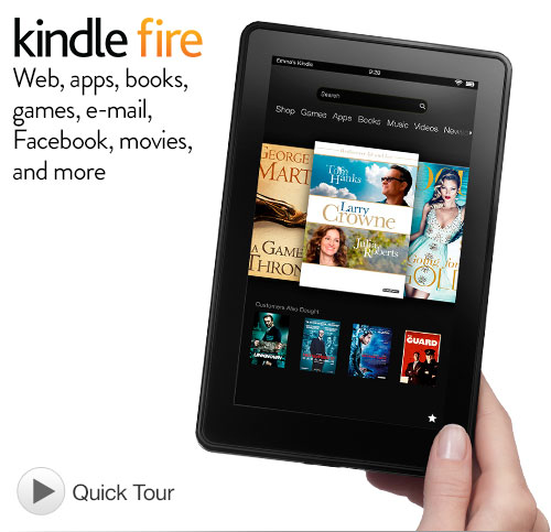 Jay's Online Notepad: Kindle Fire