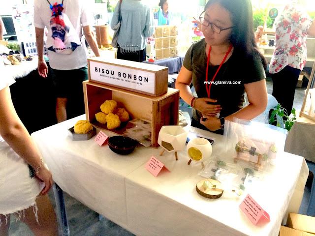 Bisou Bonbon booth