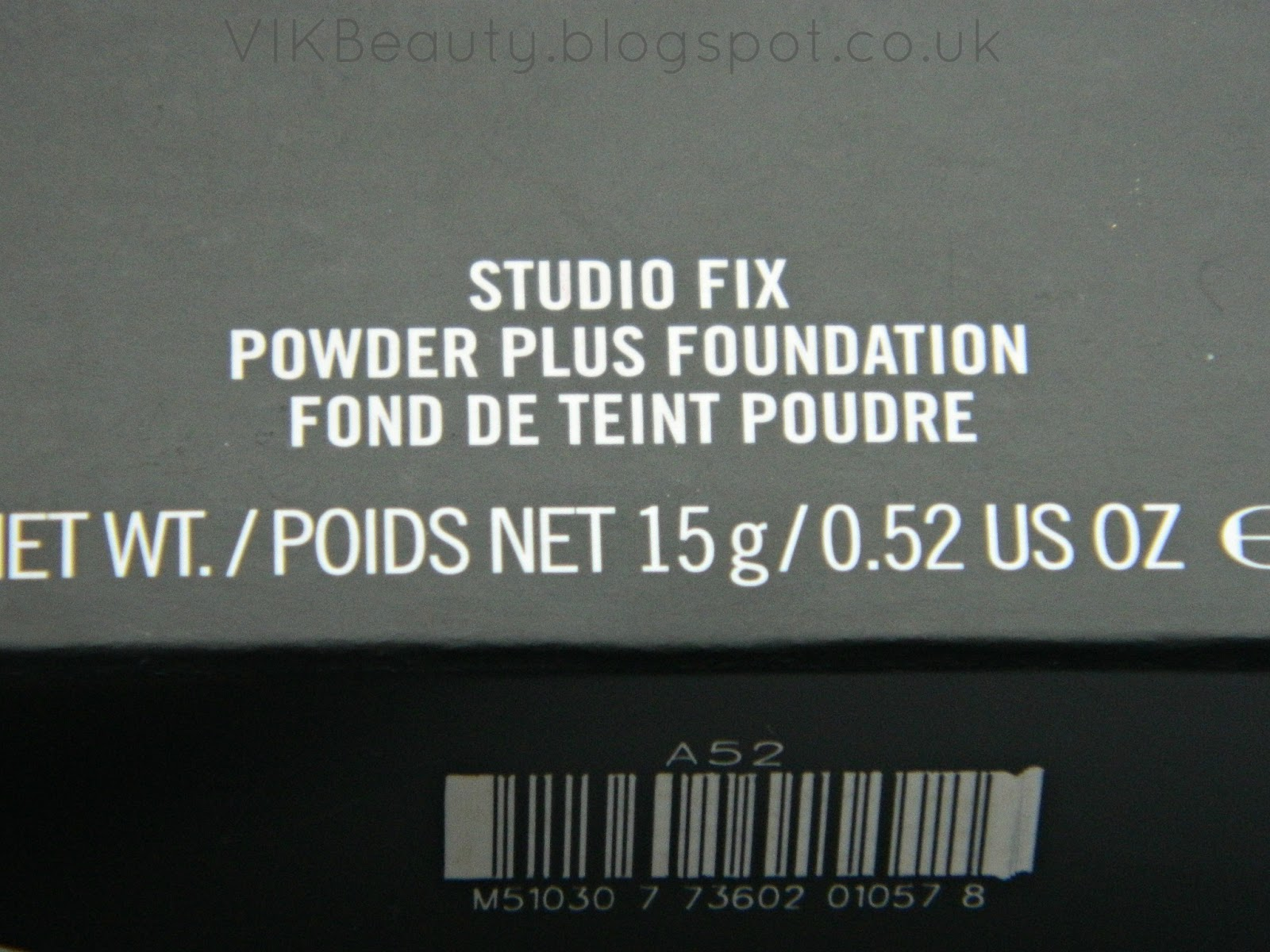 MAC Cosmetics ~ Studio Fix Powder Plus Foundation ~ NC50 Review