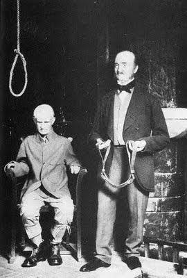 Charlie Peace (mock up) execution Armley Jail