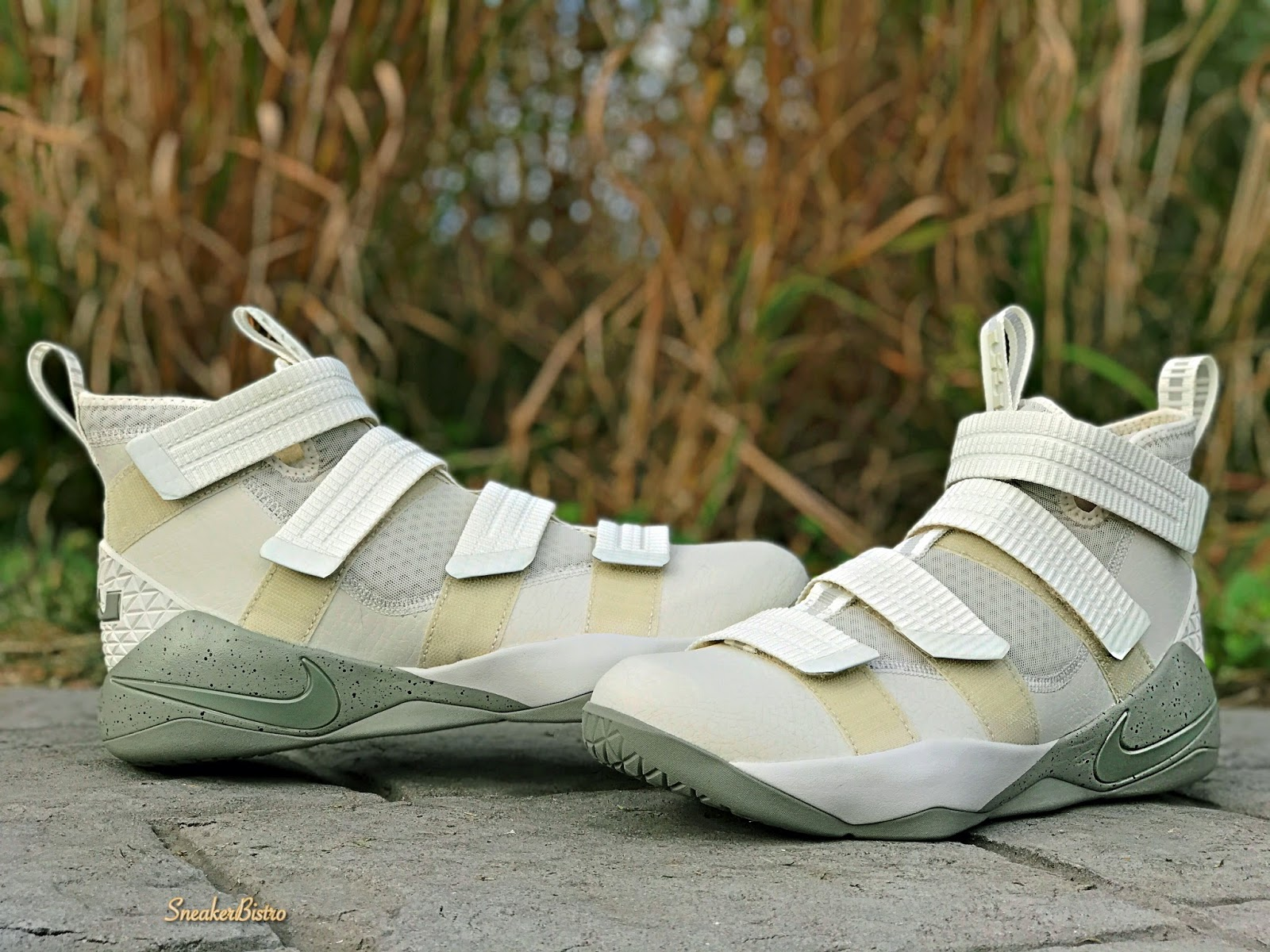 d3eb2e7131a Nike LeBron Soldier 11 SFG Light Bone Dark Stucco-Black