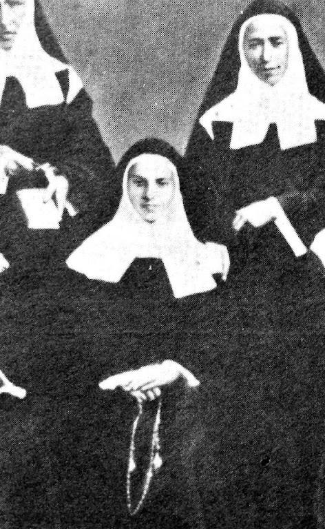 Santa Bernadette, freira em Nevers, fim de outubro 1873