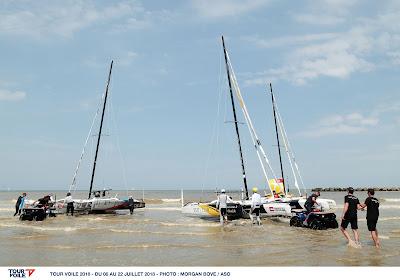 Le Tour Voile est à Dunkerque, top départ demain