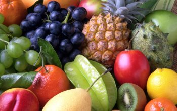 Wallpaper: Natural Fruits