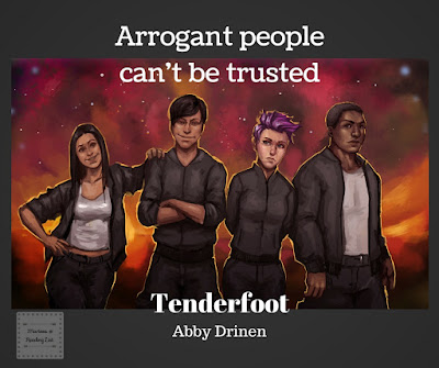 Tenderfoot by Abby Drinen  A Book Review on Reading List