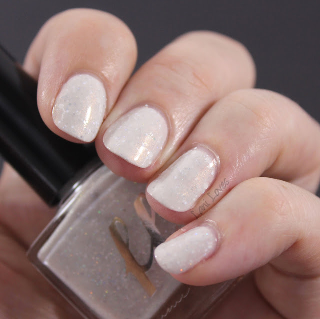Femme Fatale White Way of Delight Nail Polish Swatches & Review