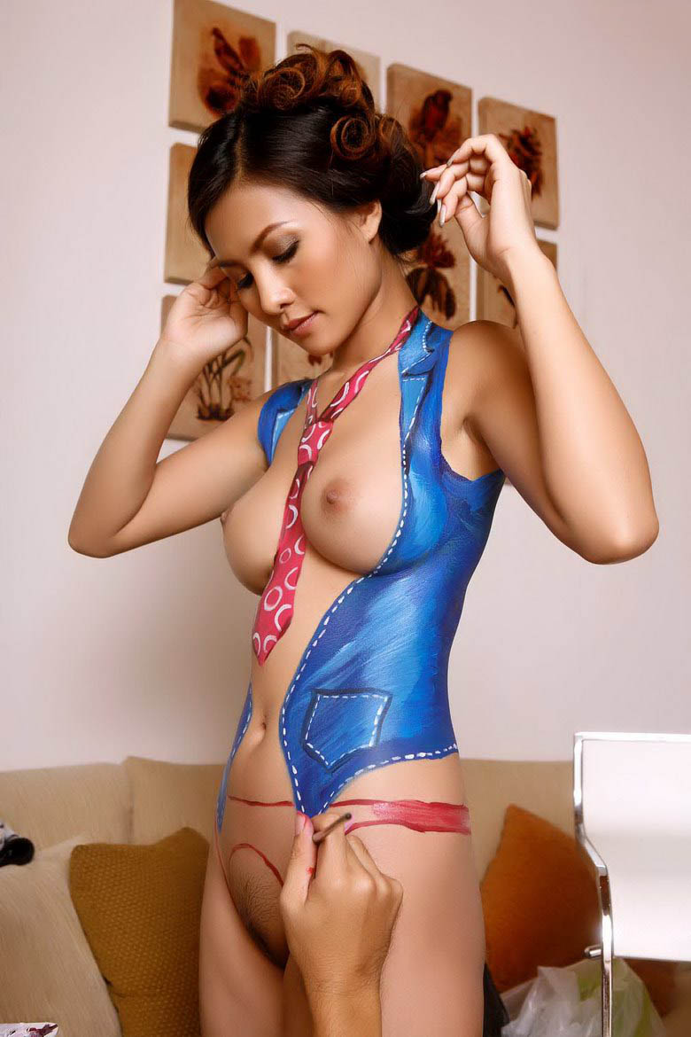 body paint sex