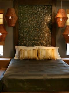 cama con cabecero original