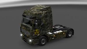 Renault Premium Radioactive skin