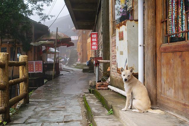 Une rue de Ping'an