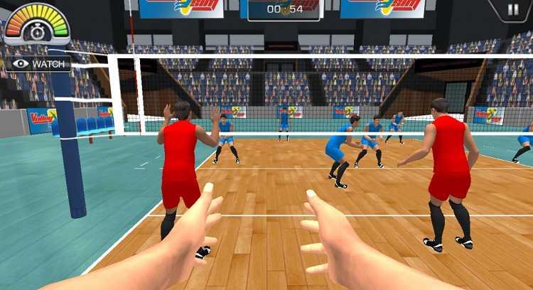 Game bola voli android gratis untuk melatih skill dan teknik bola voli