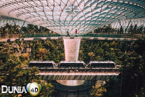 10 Bandara Terbaik di Dunia, Changi Menang Tujuh Kali Berturut-turut
