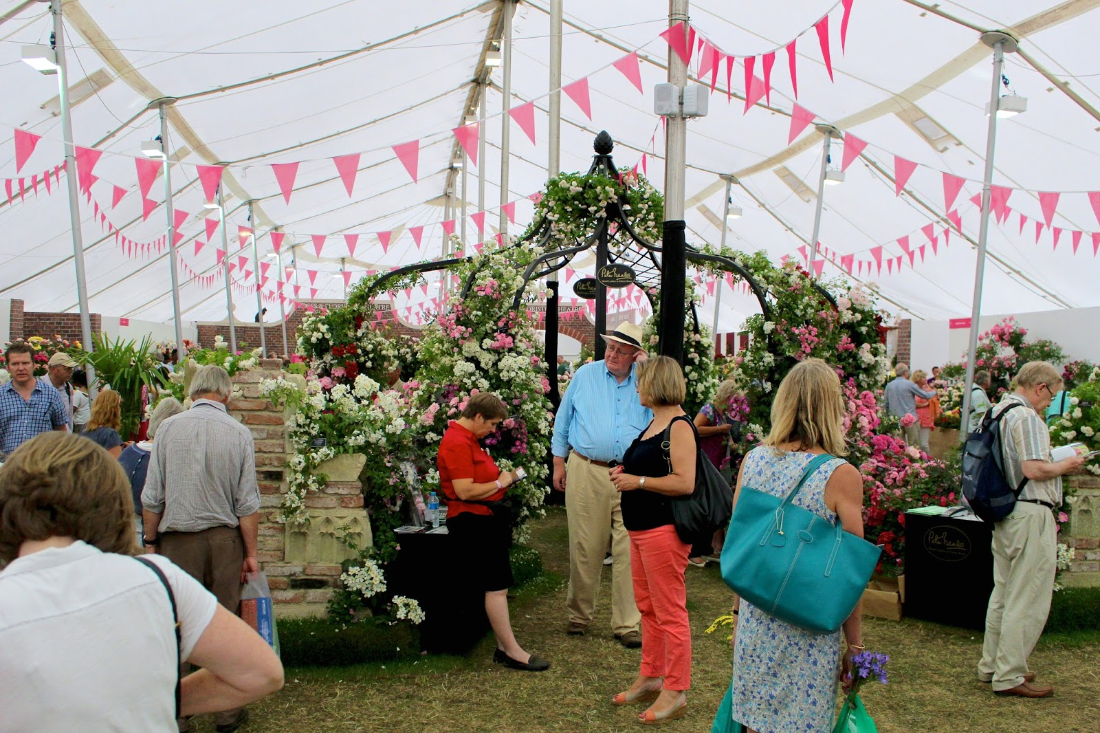 Hampton Court Palace Flower Show 2015 blog