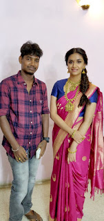 Keerthy Suresh: Keerthy Suresh in Saree with Cute and Lovely Smile with a Fan