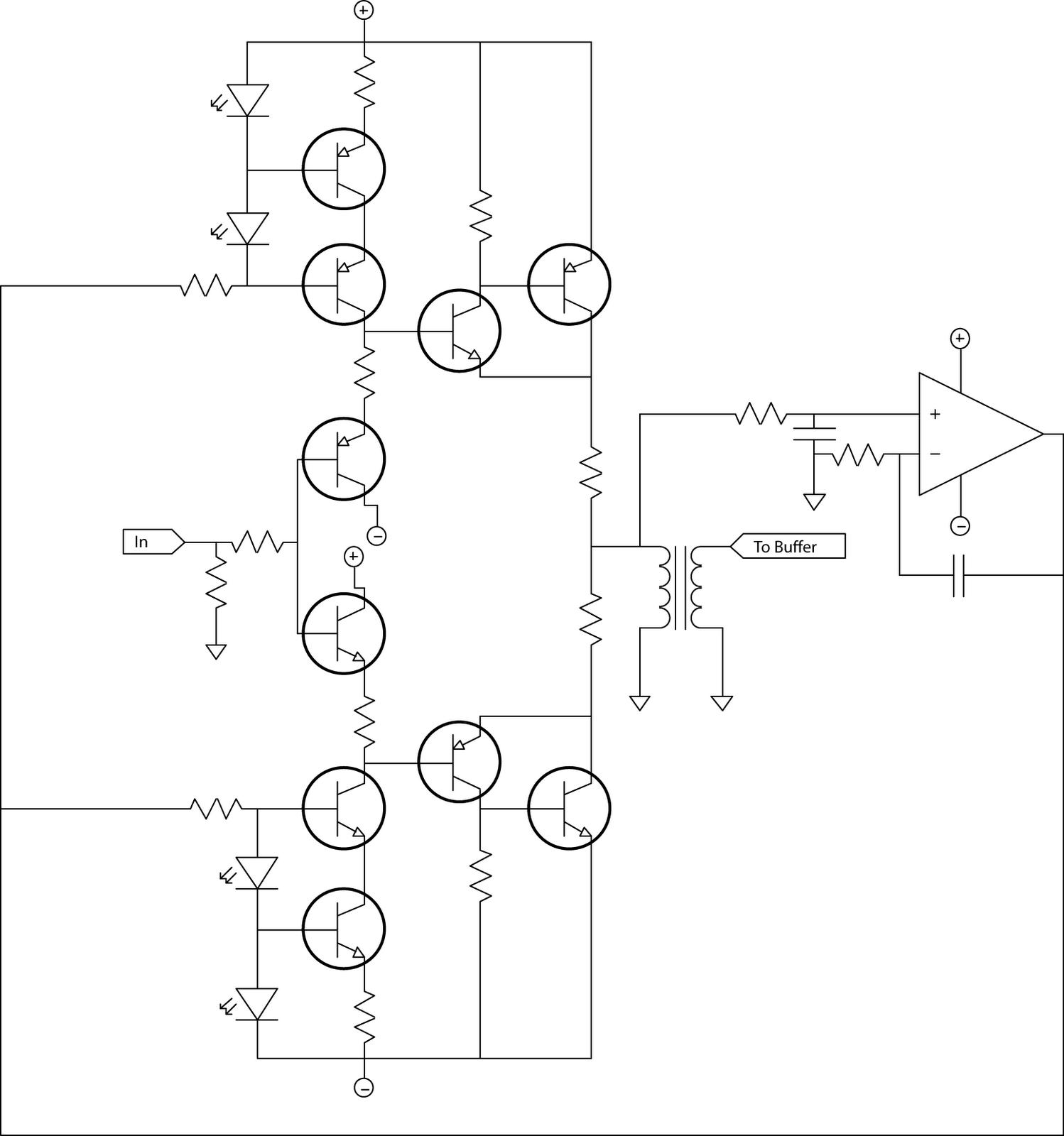 Dc Audio Amplifier