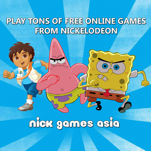 Nick Games Asia - Play Nickelodeon Games Online