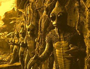 Shapeshifting explained, Reptilians_devils_Jinns_hybrids ...  Real Reptilian Hybrids