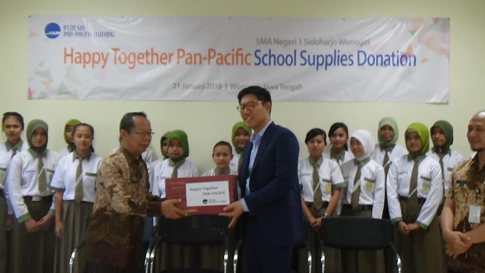 Nesia Pan Pacific Clothing Wonogiri Coorporate Social