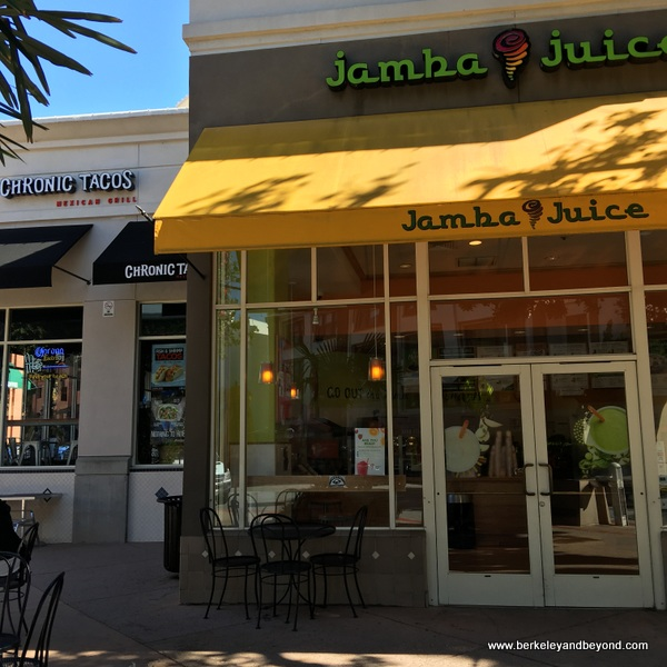 exterior of first Jamba Juice location, in San Luis Obispo, California
