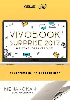 Lomba Blog ASUS VivoBook Writing