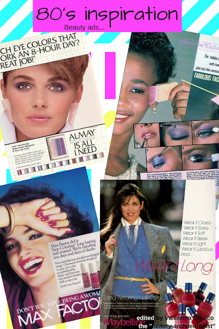 80's make-up inspiration by Valentina Chirico