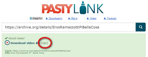 Scaricare video da Mediaset Rai e La7