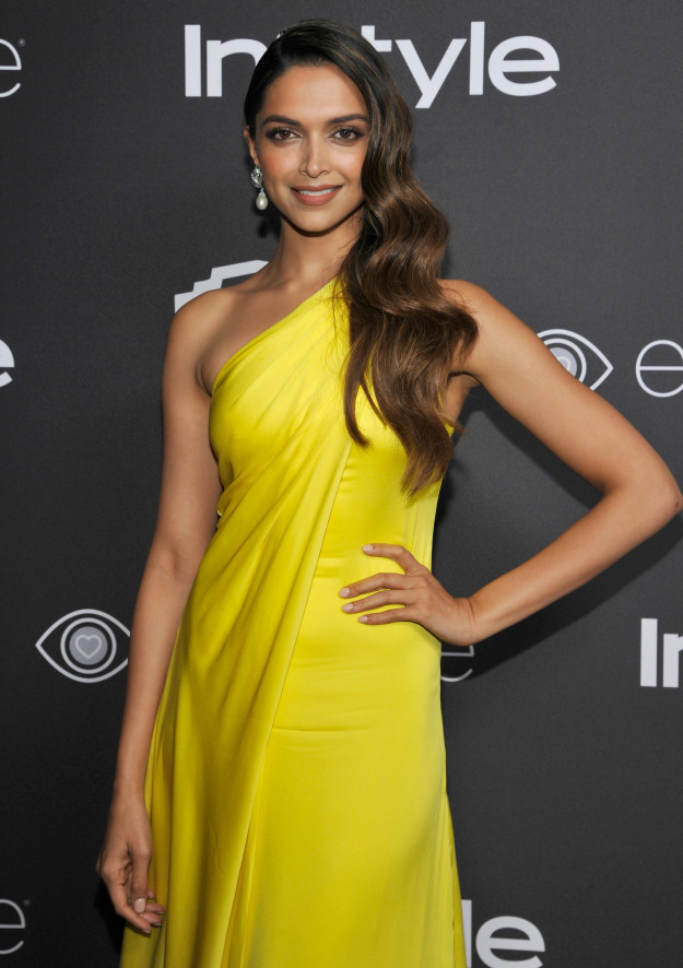 Deepika Padukone at InStyle's after party - 2017 Golden Globes