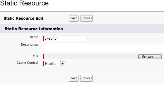 Salesforce Interview Questions: Customize CKEditor on Force com