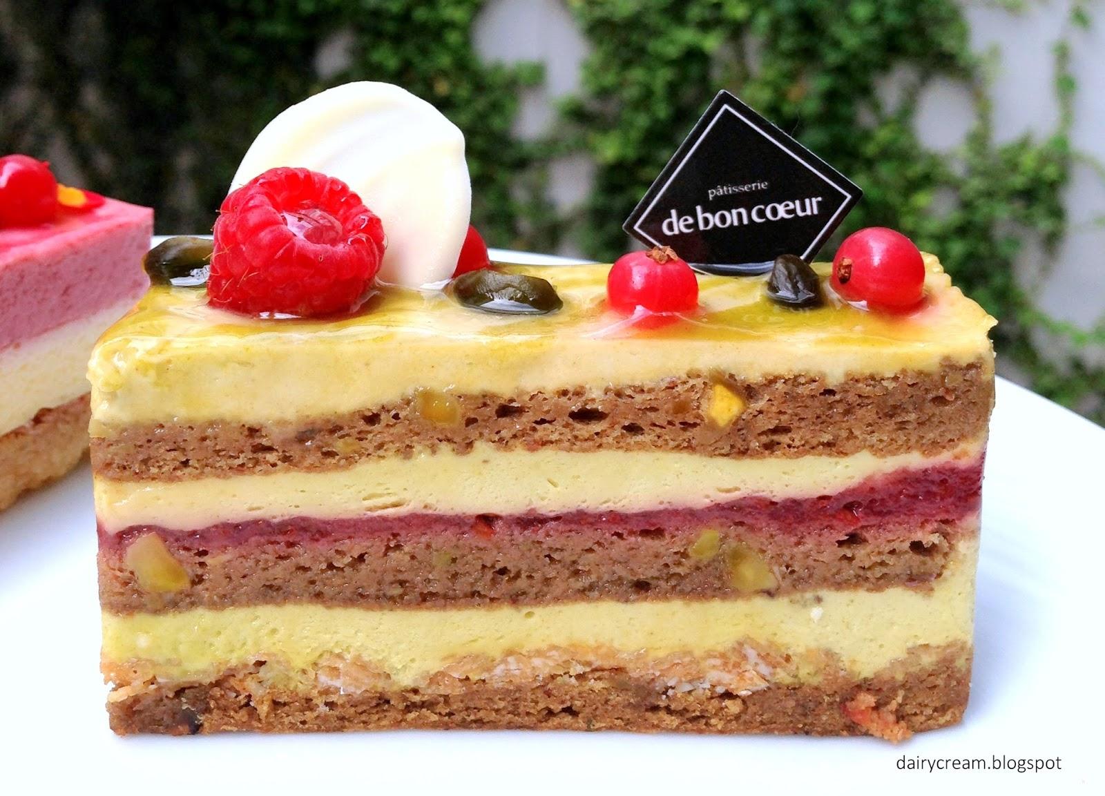Sponge Cake Coeur Fondnat