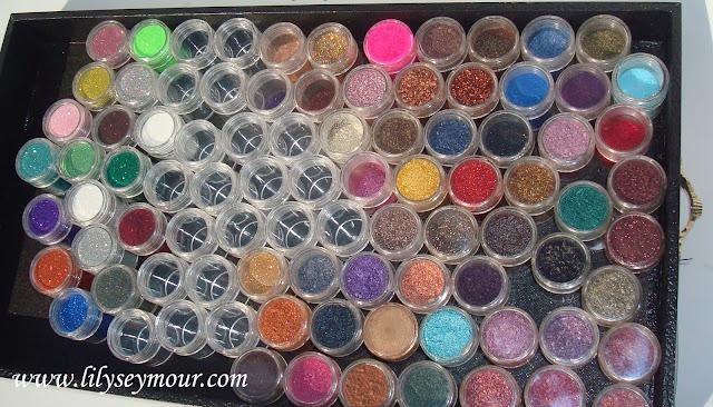 My Mac Pigment Stash