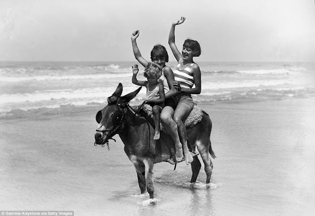 paseo en burro 1929