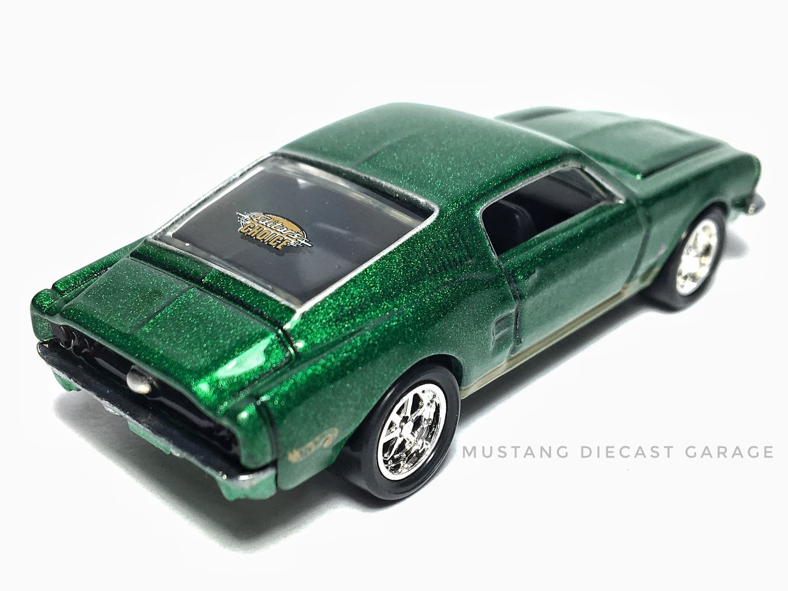 Green Editor/'s Choice ON CARD Hot Wheels Hot Rod 10 Second ~ /'68 Mustang
