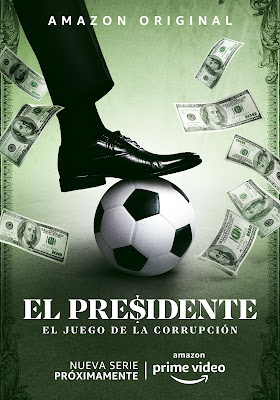 Amazon Prime Video divulga teaser de 'El Presidente'