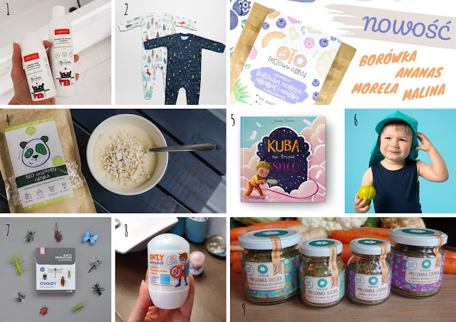 Produkty od polskich marek dla niemowlaka i starszaka. Przegląd perełek i nowości #1