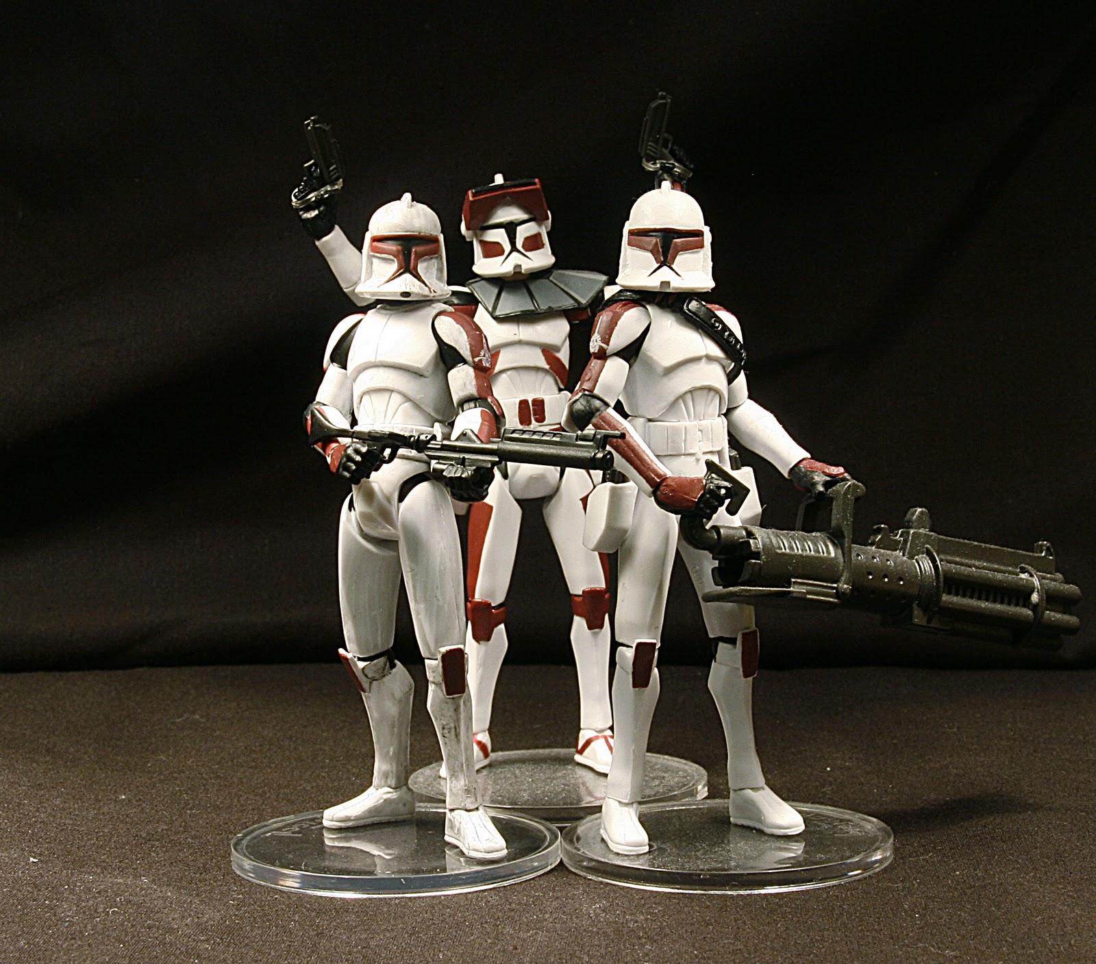 Kisho Meteora, Star Wars Collector: Senate Security Clone