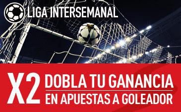 sportium bono 25 euros dobla ganancias jornada liga intersemanal 1-3 marzo