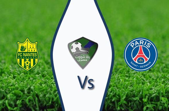 مشاهدة مباراة باريس سان جيرمان ونانت بث مباشر