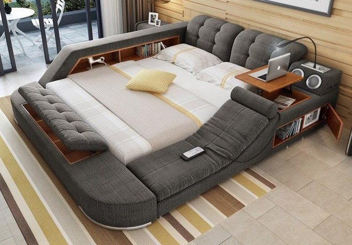 If You Have Too Many Pillows Or Blankets, You Can Simply Flip The Mattress  And The Space All Yours.